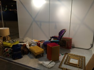 Ideal Home Show Set Up 2
