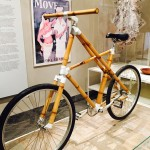 A bike made with a bamboo frame