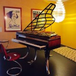 Copenhagen Design Centre - Artistic Piano & Stool
